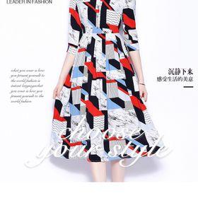Đầm lụa cao cấp D88678 - Kho sỉ giá sỉ