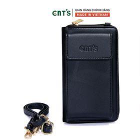 Túi đeo chéo đựng điện thoại thời trang CNT TĐX61 nhẹ nhàng nhiều màu ĐEN giá sỉ