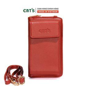 Túi đeo chéo đựng điện thoại thời trang CNT TĐX61 nhẹ nhàng nhiều màu ĐỎ giá sỉ
