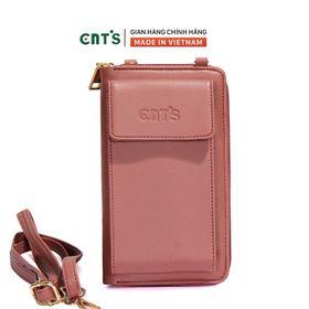 Túi đeo chéo đựng điện thoại thời trang CNT TĐX61 nhẹ nhàng nhiều màu HỒNG RUỐC giá sỉ