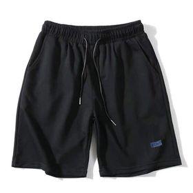 Quần shorts thun đen trơn giá sỉ
