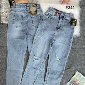 Quần jean nữ rách kiểu co giãn thời trang jean chuyên sỉ 2Kjean giá sỉ