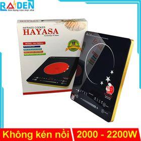 Bếp hồng ngoại cảm ứng Hayasa HA-780Slim công suất 2000 - 2200W, mặt kính cường lực giá sỉ