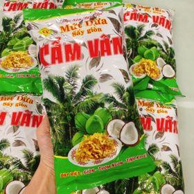 mứt dừa sấy khô cao cấp Cẩm Vân gói 240g cho vào chè/ăn liền giá sỉ