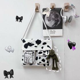 Túi đeo bò sữa chất canvas đẹp giá sỉ giá sỉ