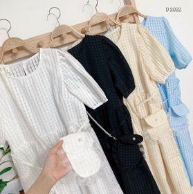 Đầm babydoll kèm túi D2022 giá sỉ