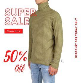 Áo thun cổ cao form fit dễ phối đồ vải xịn (Hàng thiết kế - Zuhaus) giá sỉ
