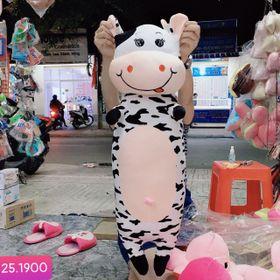 Gối ôm bò sữa size trung giá sỉ