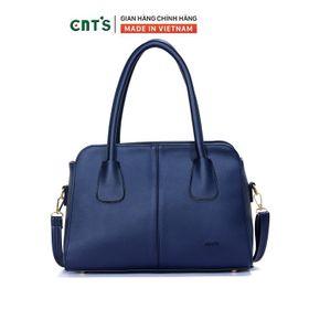 Túi xách công sở CNT nữ TX43 nhiều màu cao cấp- XANH ĐEN giá sỉ