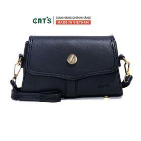 Túi đeo chéo CNT TĐX65 sang trọng, nữ tính-ĐEN giá sỉ
