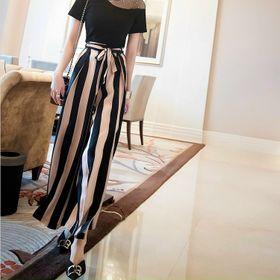 Sét áo thun quần lụa họa tiết siêu đẹp giá sỉ