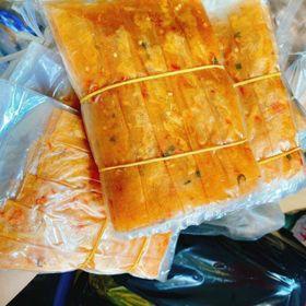 Bánh tráng trộn cuộn chà bông giá sỉ