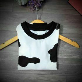 Sét bộ cho bé mặc nhà đi chơi bò sữa giá sỉ