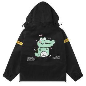 Áo khoác dù in cá sấu siêu đẹp giá sỉ giá sỉ