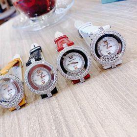 Đồng hồ nữ dây da Ro,yal c,rown giá sỉ