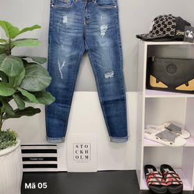 quần jean nam cao cấp rách họa tiết cực đẹp giá sỉ giá sỉ
