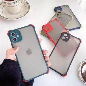Ôp nhám viền màu chống sốc bảo vệ camera IPhone giá sỉ