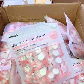Mặt nạ nén Miniso Nhật Bản giá sỉ