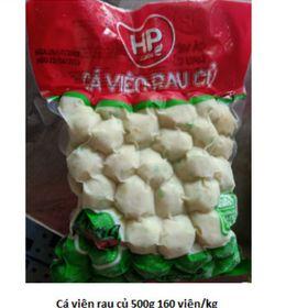 CÁ VIÊN RAU CỦGÓI 500g -160 viên/kg- CVRC #cavien #cá viên giá sỉ
