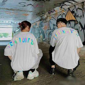 Áo thun phản quang 7 màu L.V.T cá tính giá sỉ