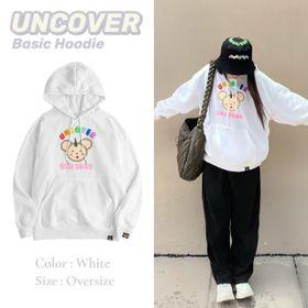 Áo hoodie in UNCOVER nỉ ngoại mềm mịn nón 2 lớp trẻ trung, năng động giá sỉ