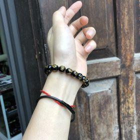 Chuỗi đeo tay 8ly khắc chữ giá sỉ