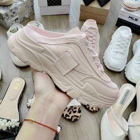 Giày sục hồng trẻ cao cấp giá sỉ