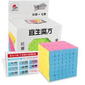 Rubik 6x6 Xoay Trơn, Không Rít, Độ Bền Cao, Màu Sắc Đẹp. Rubic 6 Đồ Chơi Thông Minh giá sỉ