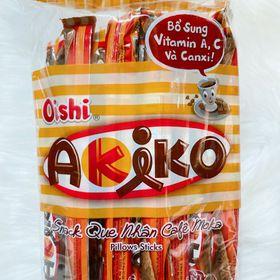Bánh ống Oishi kem cà phê Moka giá sỉ