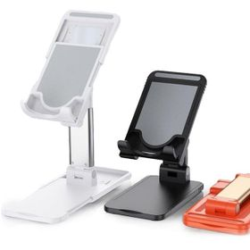 Giá đỡ điện thoại, ipad gấp gọn mở rộng được đế, ống trượt kim loại giá sỉ