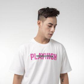 Áo thun cotton in lụa PlayHigh trẻ trung năng động giá sỉ