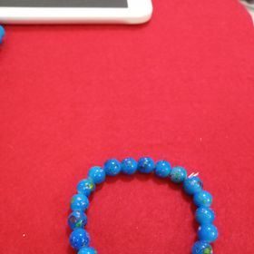 Chuỗi đeo tay xanh dương 8mm giá sỉ