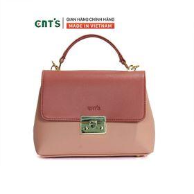 Túi đeo chéo CNT TĐX68 phối màu trẻ trung,thời trang HỒNG PHỐI giá sỉ