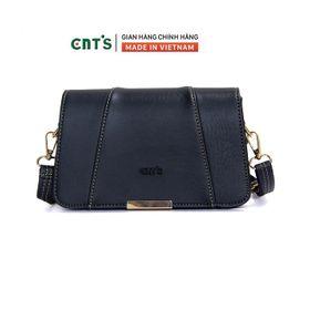 Túi đeo chéo CNT TĐX67 thời trang phong cách vintage ĐEN giá sỉ