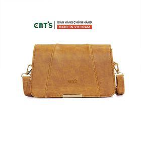 Túi đeo chéo CNT TĐX67 thời trang phong cách vintage BÒ NHẠT giá sỉ