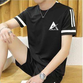 Bộ thể thao Azila, Set quần áo nam mùa hè đẹp chất thun cotton cao cấp co giãn 4C - Bn298 giá sỉ