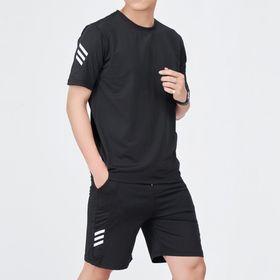 Bộ thể thao nam, set bộ quần áo nam phối sọc mạnh mẽ chất liệu thun cotton cao cấp - BN301 giá sỉ