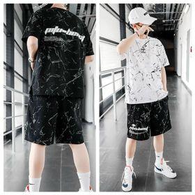 Bộ đồ thể thao nam, Set bộ quần áo unisex vân đá hot trend mùa hè chất thun lạnh cao cấp - BN304 giá sỉ
