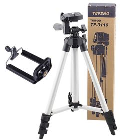 Gậy 3 chân máy ảnh quay phim Tripod 3110 ( ) Chiều cao tối đa 106cm Chiều cao gấp gọn 35.5cm Chất liệu hợp kim nhôm giá sỉ