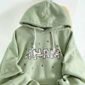 Áo hoodie in IHAM nỉ ngoại mềm mịn nón 2 lớp trẻ trung, năng động giá sỉ
