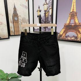 Quần jean nam cao cấp có 2 logo khóa kéo giá sỉ