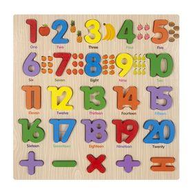 Bảng số và phép tính có hình minh họa giá sỉ