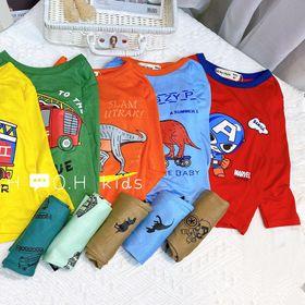 Bộ quần áo trẻ em - bộ thun lạnh minkymom-KWoo giá sỉ