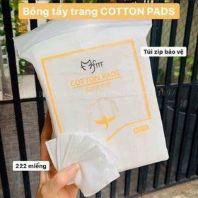 Bông tẩy trang cotton 222 miếng giá sỉ