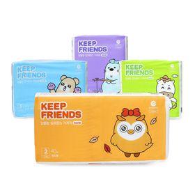 Tã dán Enblanc KEEP FRIEND nội địa Hàn quốc S40,M32,L28,XL24 miếng giá sỉ