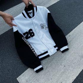 Áo khoác cardigan DONT GROW UP thun nỉ ngoại tay phối màu trẻ trung năng động giá sỉ