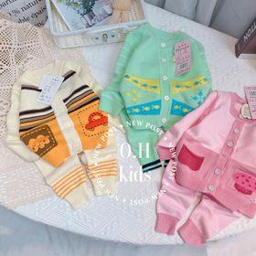 Bộ quần áo trẻ em - bộ len giá sỉ