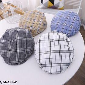 Mũ beret kẻ S1-3y M42.61-ri5 giá sỉ