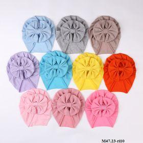Mũ turban nơ xòe M47.23-ri10 giá sỉ