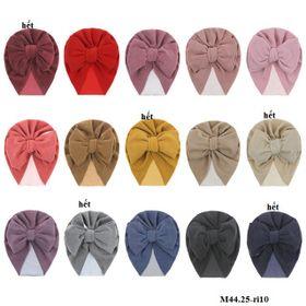 Mũ turban nơ to M44.25-ri10 giá sỉ